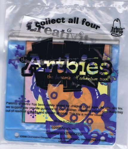 2000-arbys-kids-meal-artbies-1-of-4-by-kids-meal-toy