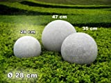 Kugelleuchte Gartenkugel GlowGranite Ø 28cm 10220