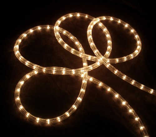 18′ Clear Indoor/Outdoor Christmas Rope Lights