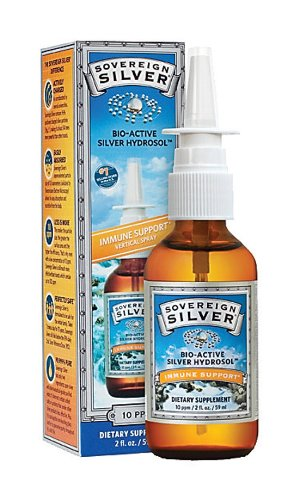 Natural Immunogenics - Silver Hydrosol Nasal Spray, 2 fl oz spray