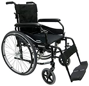 Karman Ultra Lightweight Wheelchair with Quick Release Axles in 18 inch Seat Width