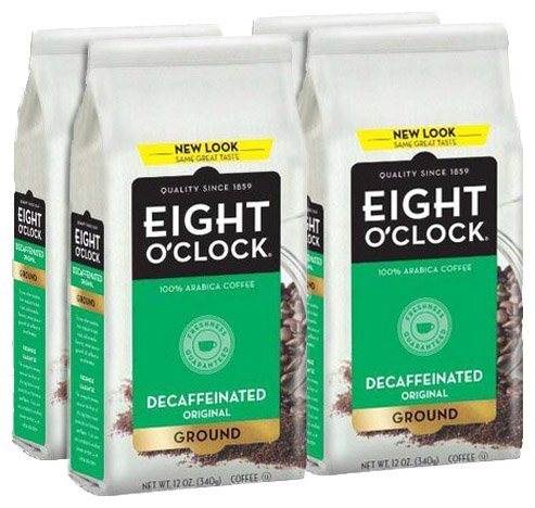 Eight O'Clock Coffee, Decaffeinated Ground, 12-Ounce Bag