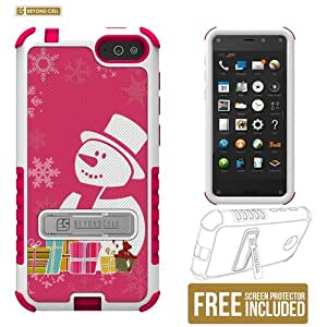 Beyond Cell TriShield Series Case with 3 Protective Layers for Amazon Fire Phone (AT&T) - Non-Retail Packaging - Snowman