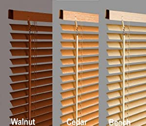 New 135cm Walnut Wood Effect Pvc Venetian Blinds, AVAILABLE IN 10 SIZES AND 4 COLOURS .Buy As Many As Like For A Max Of £4.99 Shipping