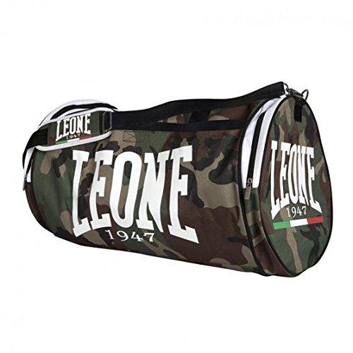 Leone 1947 Camouflage Borsone Sportivo, Verde Mimetico, Taglia Unica