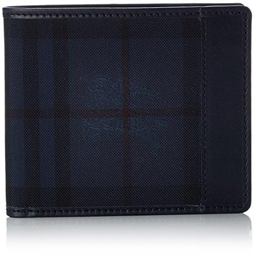 Burberry Portafoglio Reg Cc Bill 8 Classic: Blu
