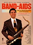 img - for Music Minus One Tenor Saxophone: Band Aids with Orchestra (Music Minus One (Numbered)) book / textbook / text book