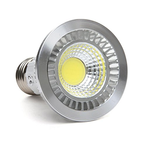 Golden Sun 5-Watt Par20 Led Wide Flood Light Bulb, 90 Degree, 50-Watt Equivalent, 2700K Warm White, Ceramic Cob, 95 Lm/W, Ac 120V, Medium Base, Fully Dimmable For Recessed And Track Lighting Fixtures, Ul Certified