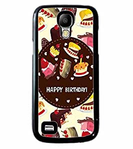 Fuson 2D Printed Birthday Designer back case cover for Samsung Galaxy S4 Mini - D4312