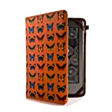 Proporta Cover/Custodia per Amazon Kindle 4 - Design Farfalle - Ecopelledi proporta