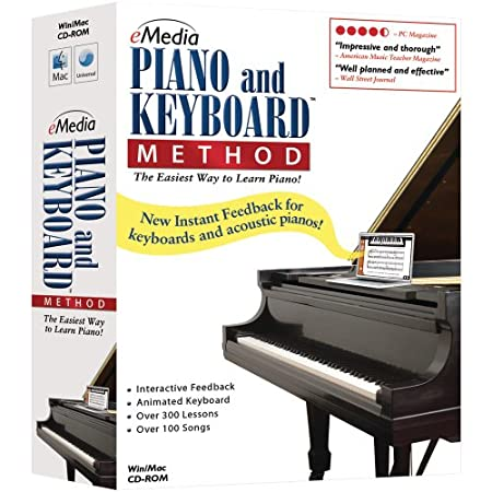 eMedia Piano & Keyboard Method (PC/Mac)