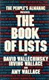 The Peoples Almanac Presents the Book of Lists