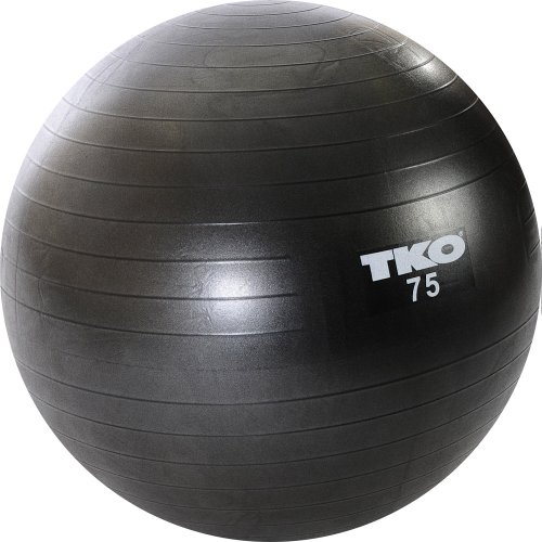 TKO Anti Burst Fitness Ball Set 75cm