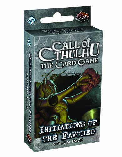 Call of Cthulhu LCG: Initiations of the Favored Asylum Pack