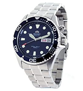 Orient Blue Ray Automatic Dive Watch CEM65009D