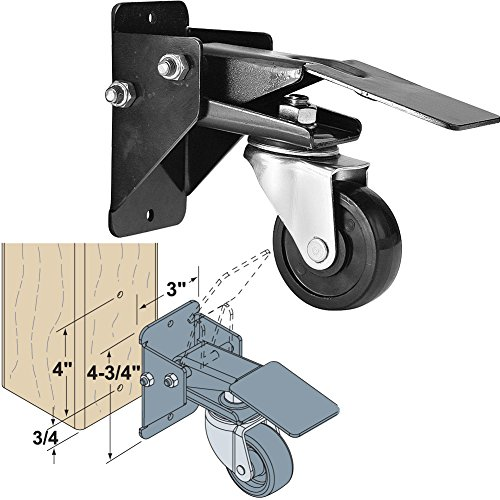 Woodtek 163703 Hardware Casters And Glides Furniture