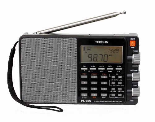 shortwave radio portable am fm receiver tuning alarm clock antenna ssb longwave ebay. Black Bedroom Furniture Sets. Home Design Ideas