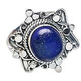 Lapis Lazuli, Lapis-Lazuli Argent Sterling 925 Bague 9