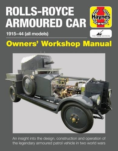 rolls-royce-armoured-car-manual-owners-workshop-manual