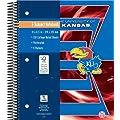 Kansas Jayhawks 3 Subject Notebook (8250507)