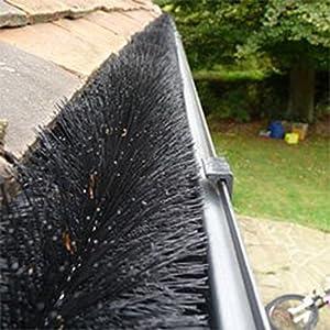 Hedgehog Gutter Guard Leaf Filter