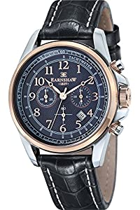 Thomas Earnshaw Reloj Cronógrafo Commodore Negro
