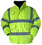 Blackrock Blouson de sécurité haute visibilité 2 bandes et 2 brassards réfléchissants, jaune