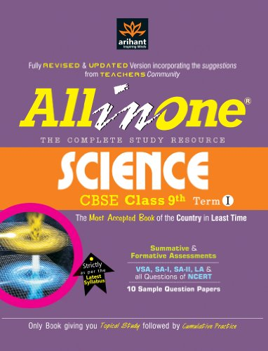 All in One Science CBSE class 9th Term-I.