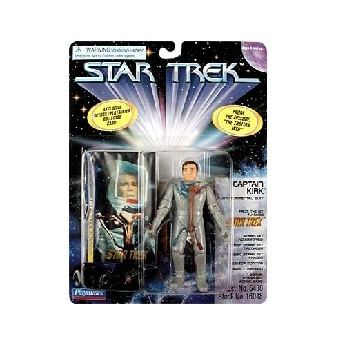 Star Trek Series 5 Captain Kirk in Environmental Suit Action Figure
