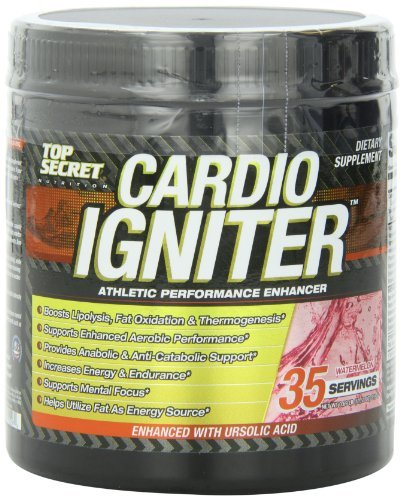 Top Secret Nutrition Cardio Igniter Mineral Supplement, Watermelon, 315 Gram