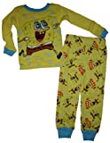 Little Boys Spongebob Squarepants 2 Pc Pajama Set