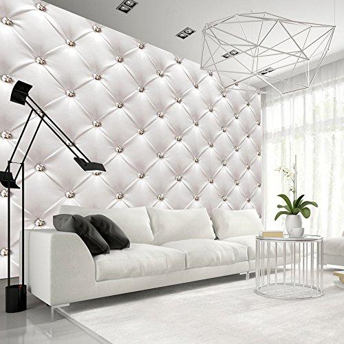 Vlies Fototapete 50x35 cm ! Top - Tapete - Wandbilder XXL - Wandbild - Bild - Fototapeten - Tapeten - Wandtapete - Wand - Leder weiß modern f-B-0039-a-a