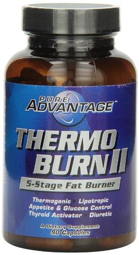 Pure Advantage Thermo-Burn II Capsules, 90 Count