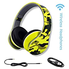 buy Bluetooth Headphones ,Show WishFoldable Wireless Headset Earphones With Detachable 3.5Mm Audio Cable And Build-In Microphone For Iphone Pc/Mac/Laptop/Bluetooth Devices
