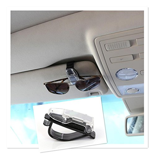 Iuhan Car Accessory Glasses Sunglasses Card Visor Pen Business Card Clip Holder (Clip On Roof Rack compare prices)