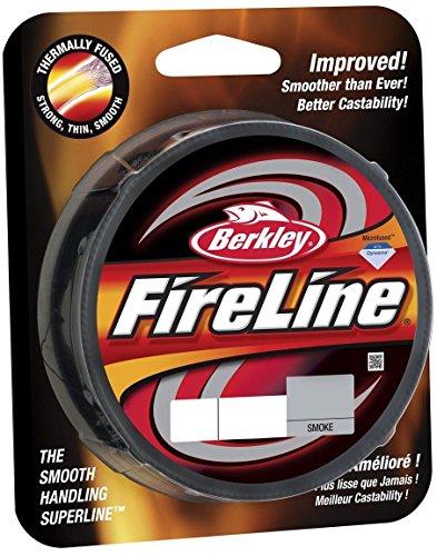 Berkley Fireline Fused smoke 6lb 300yd Spool beading Line (Fishing Line Beading compare prices)
