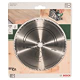 Bosch DIY 2609256826 Circular Saw Blade Type E 160 x 2 x 16 mm with 100 Teeth Chrome Steel