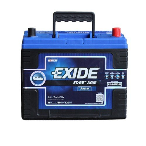 Exide Edge FP-AGM24F Flat Plate AGM Sealed Automotive Battery (Honda Pilot Battery compare prices)