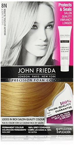 John Frieda Precision Foam Colour, Medium Natural Blonde 8N (Semi Hair Dye Blonde compare prices)