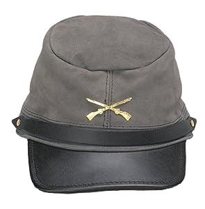 Civil War Johnny Rebel Kepi Hat One Size Fits Most