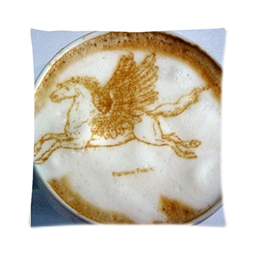 Coffee Shop Zpc245 Art Cushion Cover Restuarant Pillow Case Home Decor New