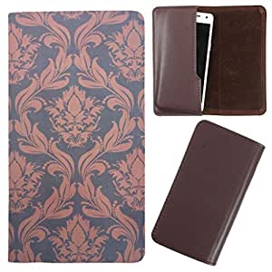 DooDa - For Micromax bolt A075 PU Leather Designer Fashionable Fancy Case Cover Pouch With Smooth Inner Velvet