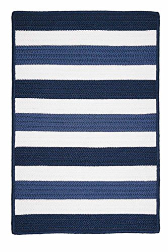 Striped Area Rug 12ft. x 15ft. Nautical