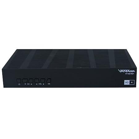 Vantage HD-SAT-Receiver VT-50 inklusive HD+ carte