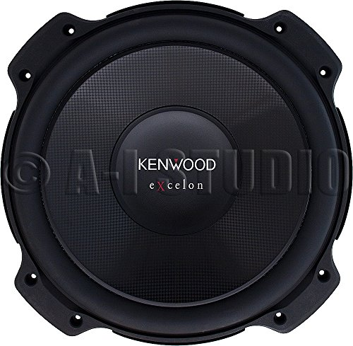Kenwood eXcelon KFC-XW120 12 Inch Shallow Mount Subwoofer