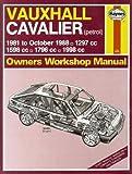 I. M. Coomber Vauxhall Cavalier 1981-88 Owner's Workshop Manual