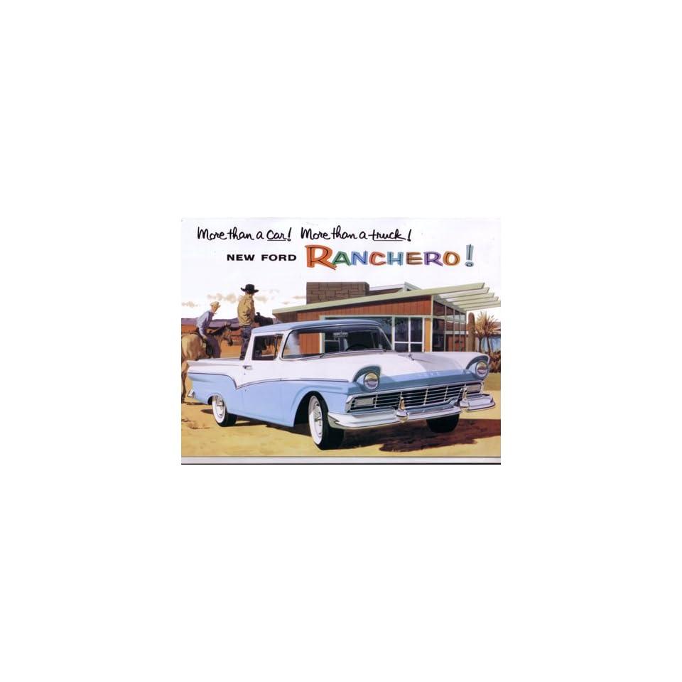 1957 FORD RANCHERO Sales Brochure Literature Book