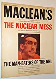 img - for Maclean's - Canada's National Magazine, March 9 1963 - Lou Fontinato Cover Photo book / textbook / text book