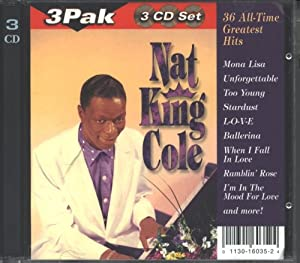Nat King Cole 36 All-Time Greatest Hits - 3 PAK