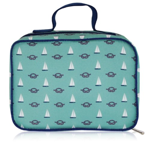 BlueAvocado-XO(ECO) Lunch Kit, Green Nautical